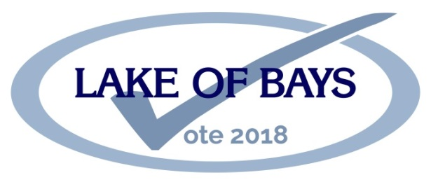 Lake of Bays 2018 Municipal Election Logo